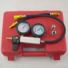 Cylinder Leak-Down Tester Leak Detector Engine Compression Tester Gauge Kit Tool