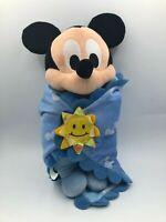 Disneyland Babies Mickey Mouse Disney Plush Kids Soft Stuffed Toy Doll Blanket
