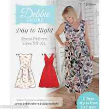 Debbie Shore Sewing Pattern - Day To Night - Size XS-XL - 2 Dresses 1 Pattern
