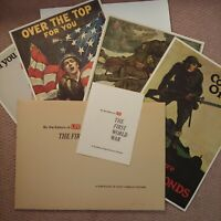 Life First World War Posters portfolio Color Lithographs 1964