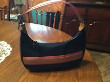Longchamp Derby hobo Blue Nylon Small Purse Shoulder Bag/ never used...with tags
