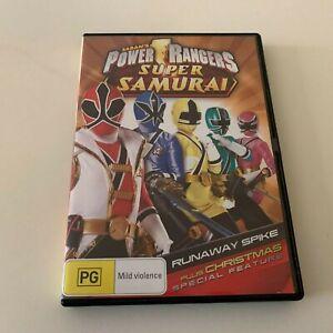 Saban's Power Rangers Super Samurai DVD Runaway Spike plus Christmas Special
