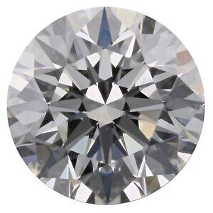0.43 Ct E Color VVS2 Clarity GIA Certified Natural Round Brilliant Cut Diamond