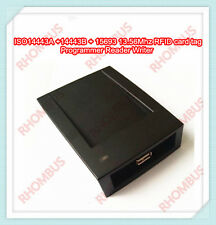 Iso14443a Iso14443b Iso15693 1356mhz Rfid Card Tag Programmer Reader Writer