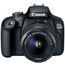 Canon EOS Rebel T7 DSLR Camera EF-S 18-55mm IS II + EF 75-300mm Lens 16GB memory