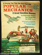 Popular Mechanics Magazine April 1971 Underwater Habitat Diving Club Can Build