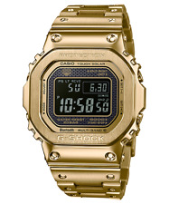 Casio GMWB5000GD-9D G-Shock Ion Plated Gold Solar Bluetooth Multiband RRP$999