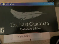 Last Guardian: Collector's Edition (Sony PlayStation 4, 2016)