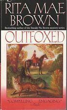 OUTFOXED ~ Rita Mae Brown ~ 2000 PB FP