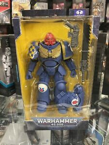 "McFarlane Toys Warhammer 40,000: Ultramarines Primaris Assault Intercessor 7""..."