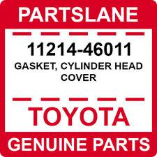 11214-46011 Toyota OEM Genuine GASKET, CYLINDER HEAD COVER