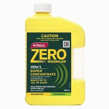 YATES ZERO WEEDKILLER SUPER CONCENTRATE 500ML