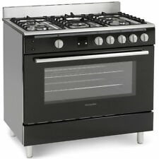 Montpellier MR90GOK Single Oven Gas Range Cooker With Wok Ring 90cm