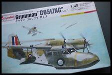 Vintage AZ MODEL GRUMMAN Gosling MKI 1/48 Scale Model Kit Sealed Bag