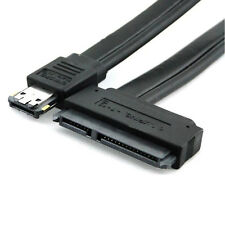 2015 New Dual Power eSATA USB 12V 5V Combo to 22Pin SATA USB Hard Disk Cable