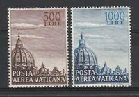 FRANCOBOLLI - 1953 VATICANO P.A. L.500+1000 CUPOLONI MNH E/6405