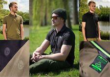 KORDA DRY-KORE POLO SHIRTS BLACK OR GREEN