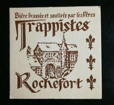 N75 Sous-bock bière brassée et soutirée par les pères Trappistes Rochefort