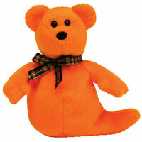 TY Halloweenie Beanie Baby - HAUNTED the Ghost Bear (4 inch) - MWMT's