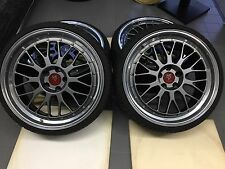 20 Zoll MB-Design LV1 Alu Felgen 5x112 et45 grau poliert Gutachten Le Mans GTI