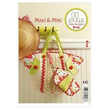 Kwik Sew Sewing Pattern K110 Bags Reusable Shopping Craft & Clutch Coin Pouch