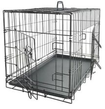 "Dog Crate 36"" High and 2 Doors - Folding Cage"