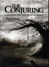 NEW DVD // HORROR // THE CONJURING // Vera Farmiga, Patrick Wilson, Ron Livings