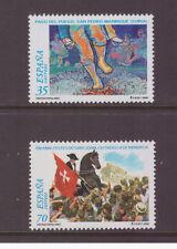 Spain 2000 Spanish Folk Festivals  SG3658-3659 set  mint stamps