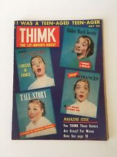 Thimk #2 (July 1958) FN Copy of Satirical Comic by Alan Whitney & Henry Loose