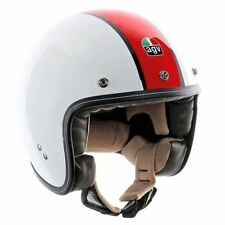 Casques rouge scooter pour véhicule taille XS