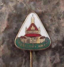 Antique Jindrichuv Hradec Palace Castle Czech Travel Tourist Souvenier Pin Badge