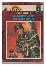 RAID N° 1 LE SURVIVANT DU PACIFIQUE 1982 COMICS POCKET