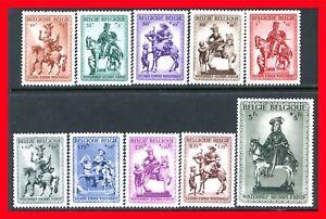 Belgium Semi-postal Stamps Scott B305-B314, Mint Complete Set!! B1249
