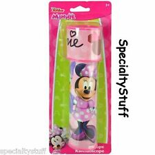 """NEW DISNEY MINNIE MOUSE DELUXE KALEIDOSCOPE 8-1/4"""" LONG BOW-TIQUE (OO)"""