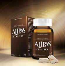 1 box x 30 Tablets Alipas Ginseng Platinum, Men Testosterone,Eurycoma Longifolia