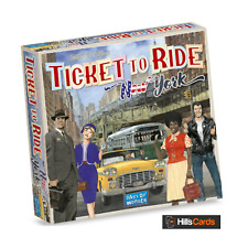 New York Ticket To Ride Board Game - Days Of Wonder - Family Adventure Kids Card