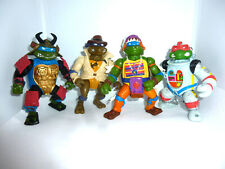 4x Teenage Mutant Ninja Turtles mit Löchern - Hero Actionfiguren Playmates