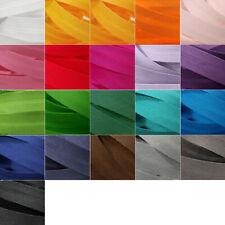 2-3 Meter Schrägband Satin 20mm 29 Farben Einfassband Falz glänzend Falzband