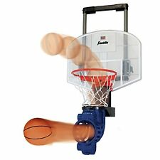 Franklin Sports Shoot Again Basketball with Electronic Scoring and Time Clock