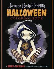 Jasmine Becket-Griffith Halloween Coloring Book: A Spine-Tingling Fantasy Art