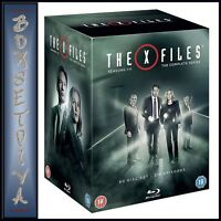 THE X FILES:COMPLETE SERIES COLLECTION- SEASONS 1 - 11*BRAND NEW BLU-RAY BOXSET*