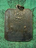 Phra LP Puek Wat Saliko Talisman Singha Garuda Vishnu Pendant Thai Buddha Amulet