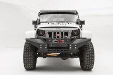 2007-2016 Jeep Wrangler JK Fab Fours Full Width Grumper Winch Bumper GR1010-1