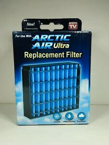 Arctic Air Ultra Replacement Filter Dishwasher Safe Reusable New In Box FREEShip
