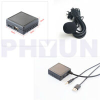 1Pcs AUX USB Bluetooth 5.0 Wireless Audio Adapter Cable Microphone Car Universal