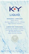 6 Pack - K-Y Personal Lubricant, Natural Feeling Liquid, 2.5oz Each