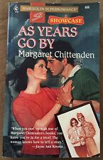 Vintage 1995 As Years Go By Margaret Chittenden Paperback Book Romance Novel