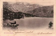 1901 - CARTOLINA DEL LAGO DI DEVERO - VALLE ANTIGORIO - BACENO -