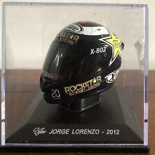Casco/Helmet Jorge Lorenzo (deagostini) 2012 X-Lite (Yamaha) 1:5