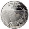 $10 Dollar Little Spotted Kiwi New Zealand 5 oz fine silver 2018 Proof